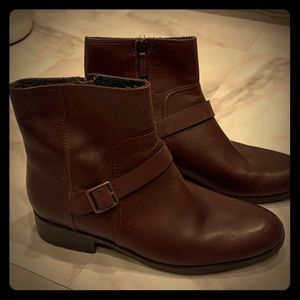 Cole Haan Brown Waterproof Boots